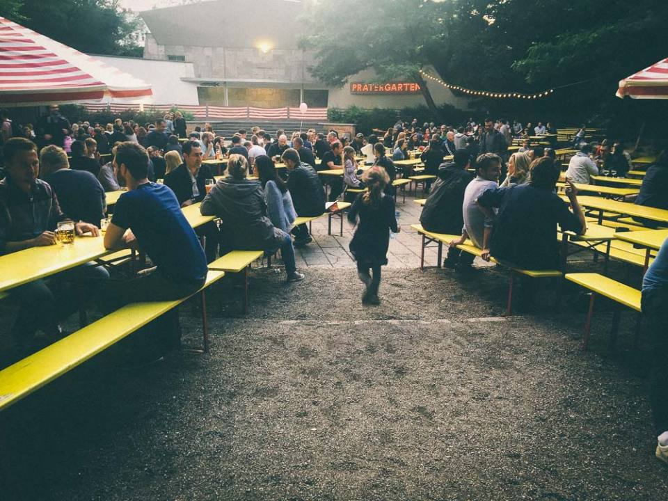 Prater Garten is the best biergarten in Berlin