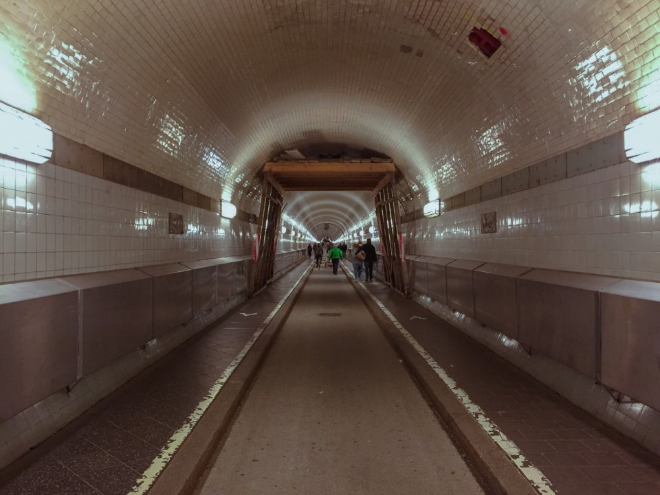 The Old Elbe Tunnel: Exploring the Hamburg Underground