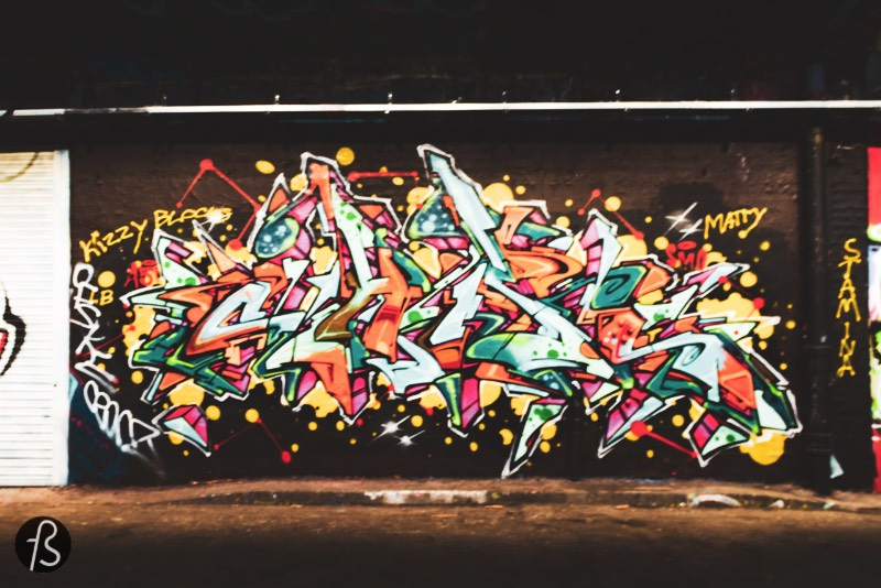 The Leake Street Graffiti Tunnel in London