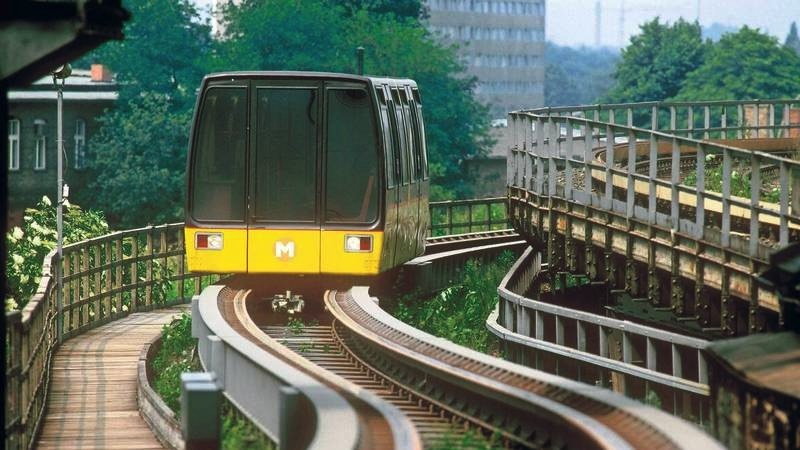 Berlin M-Bahn: The Brief History of the First Maglev train in Germany
