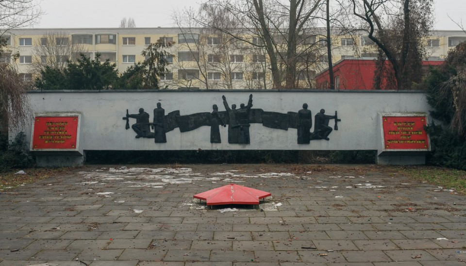 The Soviet War Memorial in Alt-Hohenschönhausen