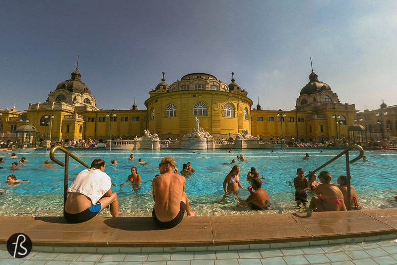 A Visit to the Szechenyi Medicinal Bath in Budapest