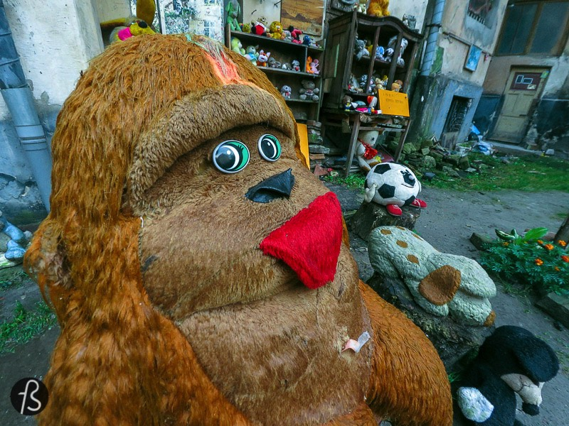 The Yard of Lost Toys in Lviv