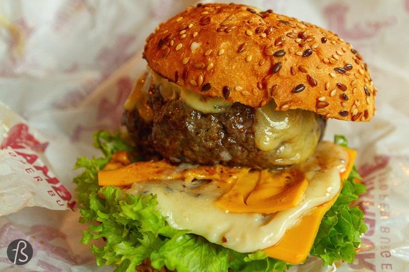 Hamburg Rotterdam: Fantastic Dutch Beef Burgers