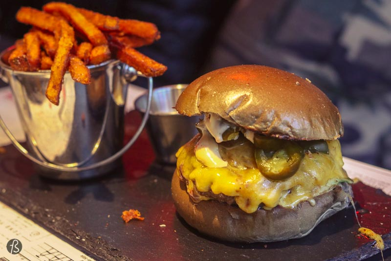 Grindhouse Burger: dry aged burgers in Prenzlauer Berg