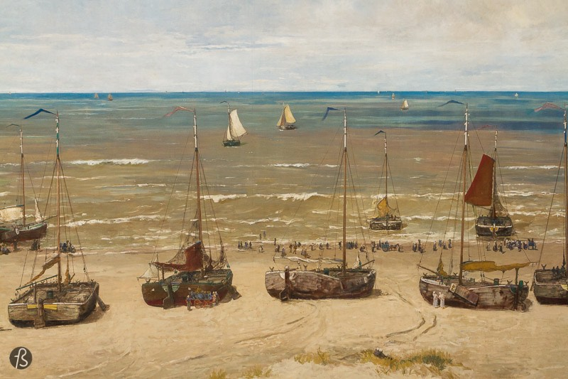 Panorama Mesdag: a trip back in time to a fishing village in the 19th century
