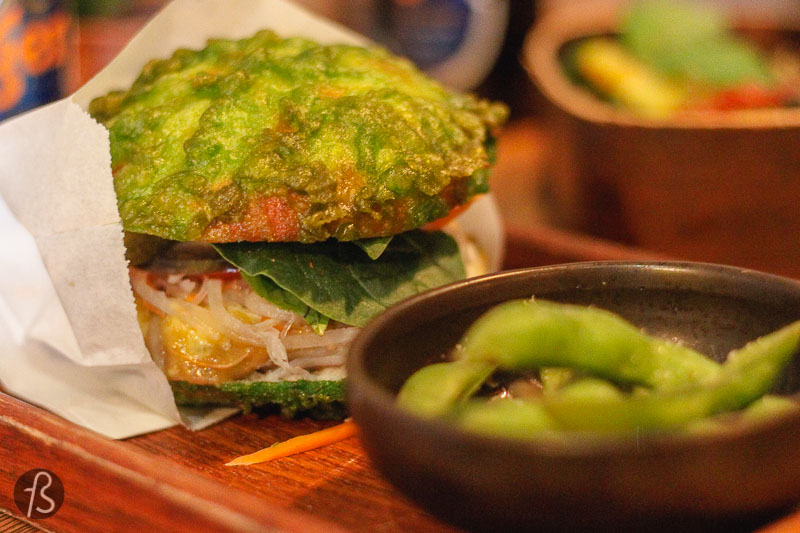 Ryong: The Best Vegetarian Burger in Berlin