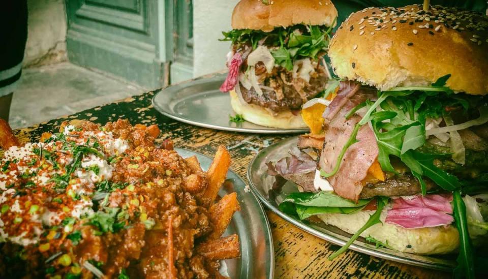 Berlin Burger International: huge messy burgers in Neukölln
