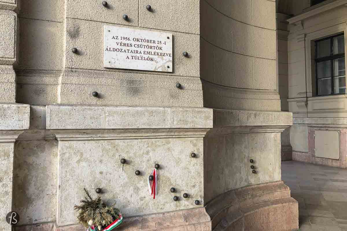 Budapest Bullet Holes: A Memorial to the 1956 Hungarian Revolution