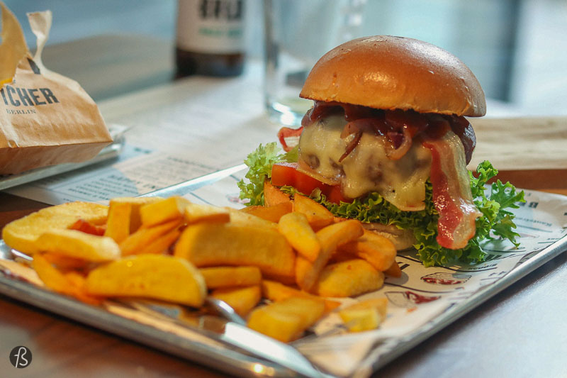 The Butcher: fancy burgers in Charlottenburg