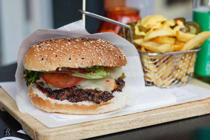 Beef Fabrik: honest burgers in Wilmersdorf