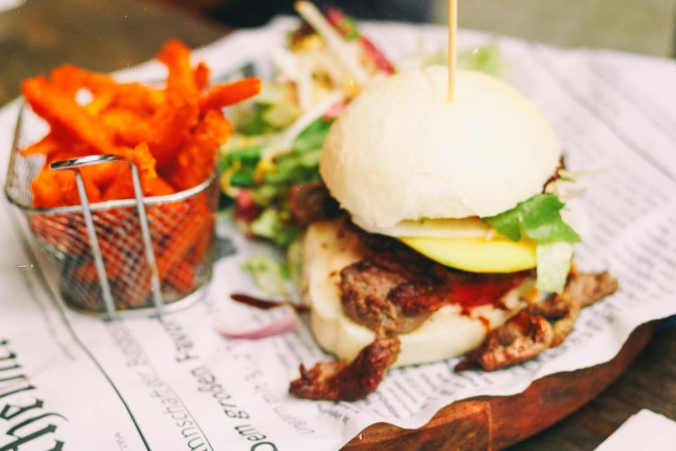 Pan Bao Burger: Asian inspired in Friedrichshain