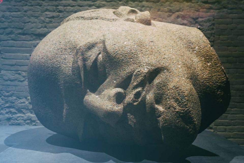 The Unearthed Head of Lenin at Zitadelle Spandau
