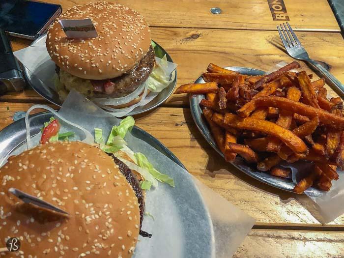 Marienburgerie: cheap burgers in Prenzlauer Berg