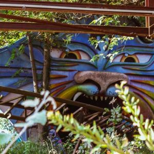 Spreepark: An abandoned amusement park in Berlin via @fotostrasse
