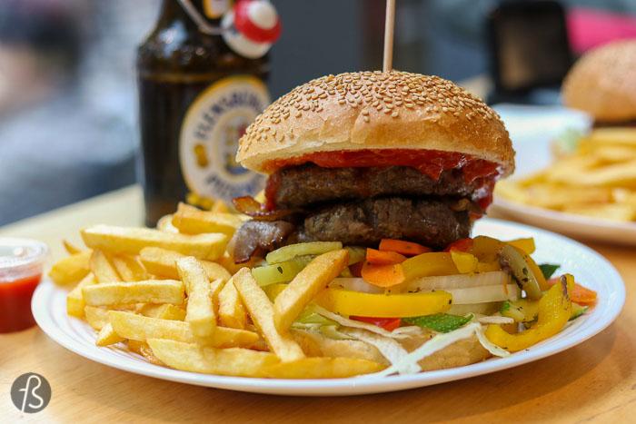 Piechas: butcher shop burgers in Bergmannkiez
