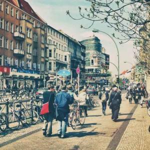 In Neukoln, David Bowie explores West-Berlin with music via...