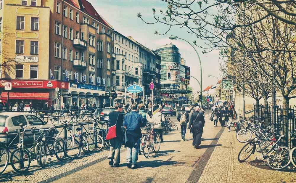 In Neukoln, Bowie explores West-Berlin with music