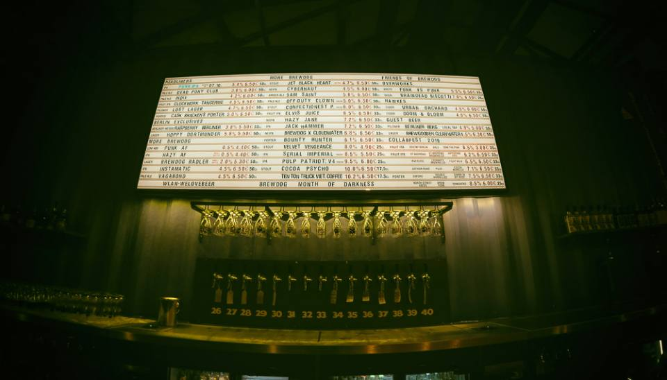 A visit to the BrewDog DogTap in Berlin-Mariendorf