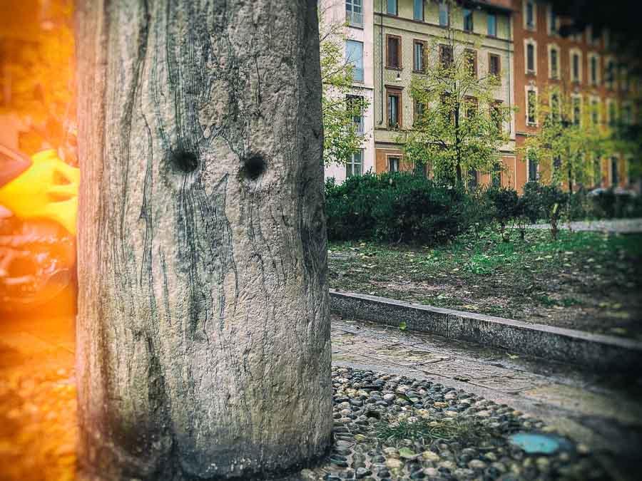 The Devil's Column in Milano