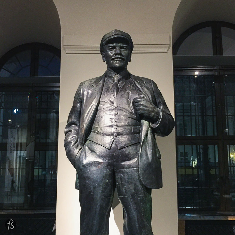 All the locations that we found Lenin in Berlin
