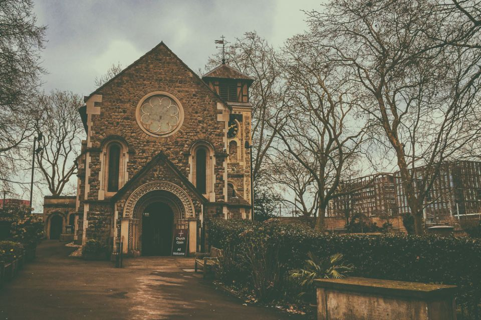 A Visit to St Pancras Old Church in Central London