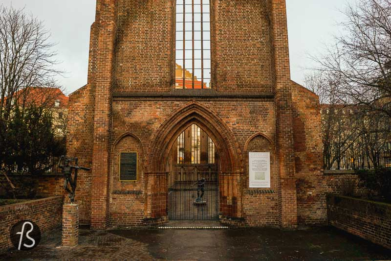 For us, the Franziskaner-Klosterkirche is one of the last surviving testimonies of the old Berlin. It's a piece of history that the city has that much anymore. It's one of the most unique parts of architectural history open to the public and even used for cultural purposes.