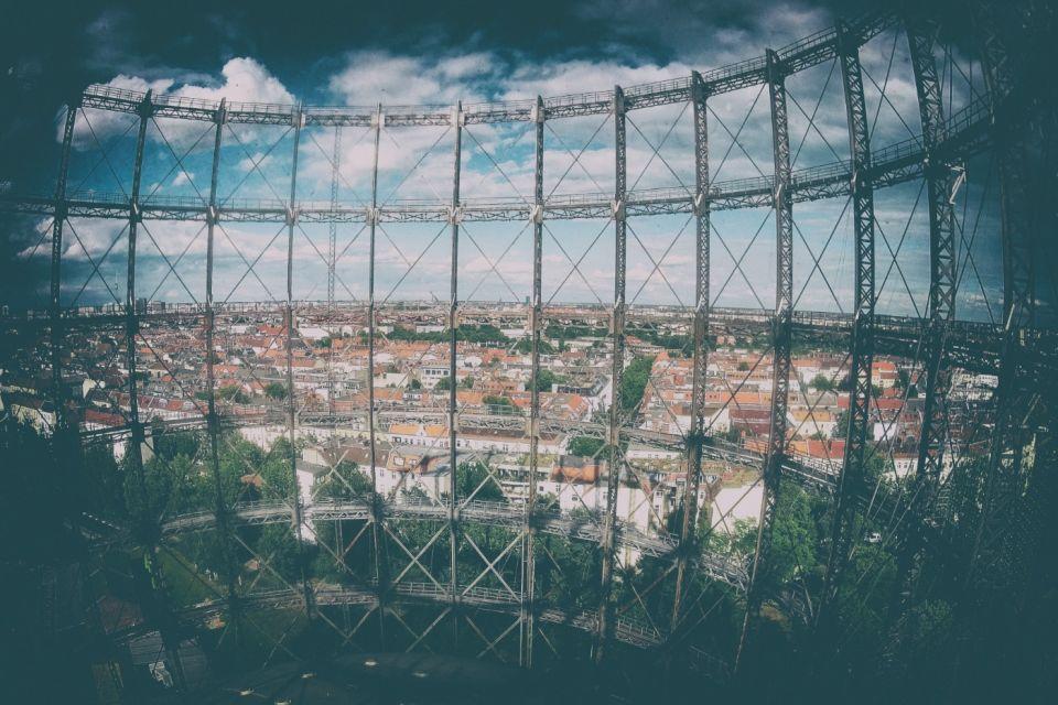 Schöneberg Gasometer: Climbing the Skeleton of Abandoned Gasworks