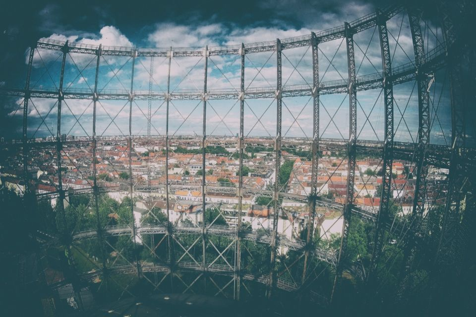 Schöneberg Gasometer: Climbing the Skeleton of Abandoned Gasworks