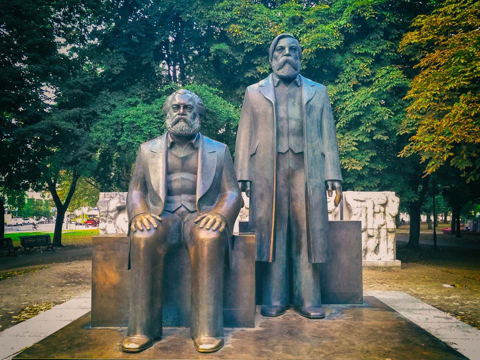 Marx and Engels Forum in Berlin