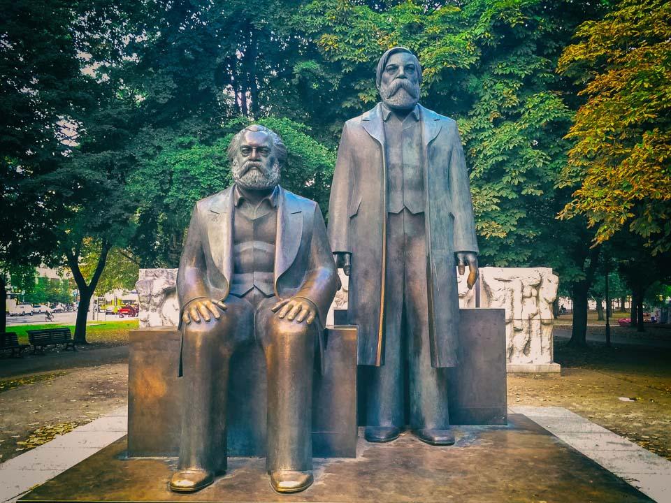 Marx and Engels Forum in Berlin