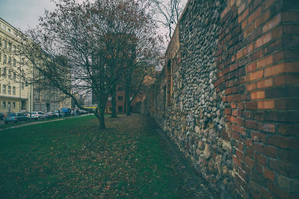 The Old City Wall of Berlin