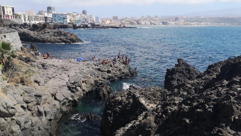 You can snorkel in Las Palmas de Gran Canaria