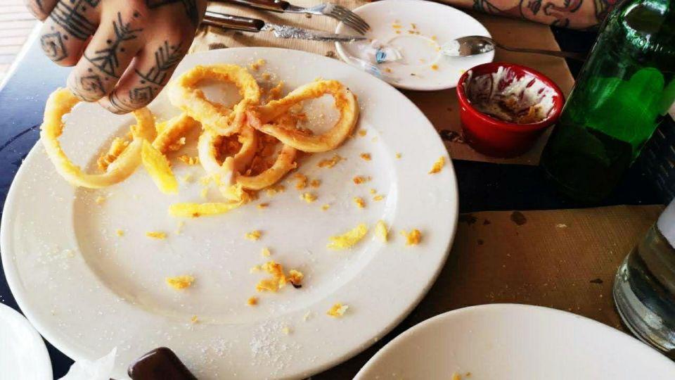 fried calamaris
