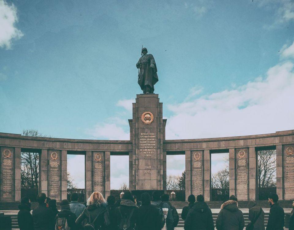 Soviet Memorial in the Tiergarten