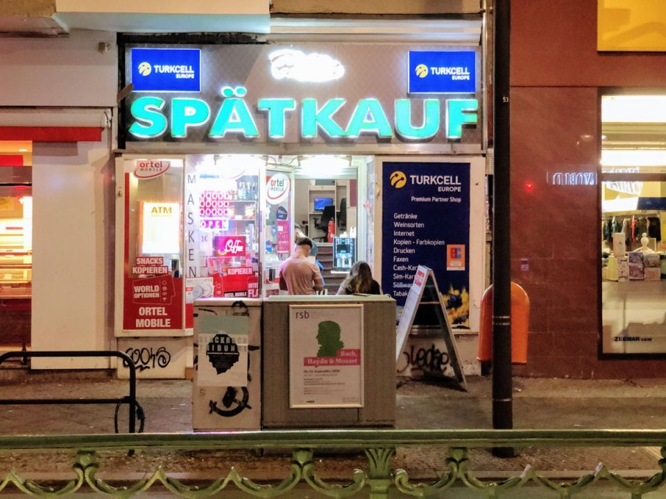 The Späti where Luka Magnotta was arrested in Berlin