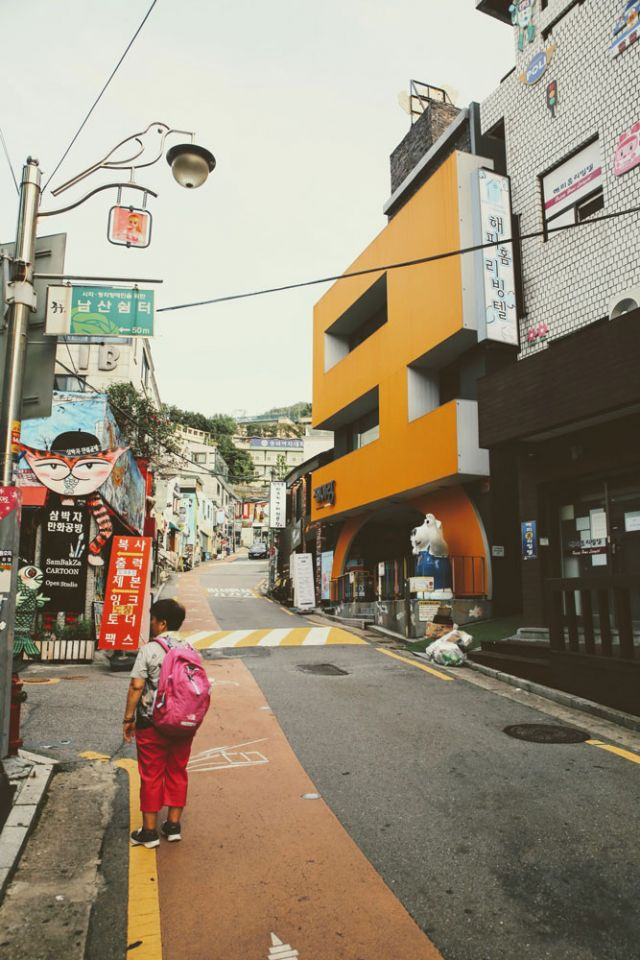 Zaemiro: Seoul's street dedicated to Comic books