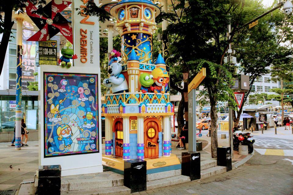 Zaemiro: Seoul's street dedicated to Comic books