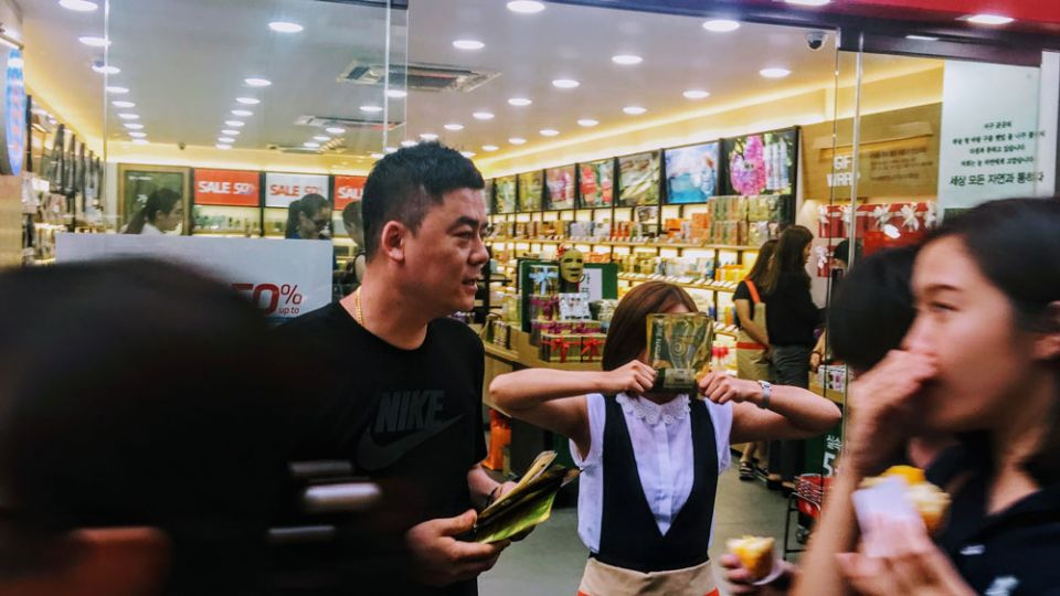 skincare and k-beauty - shopping guide in Myeongdong