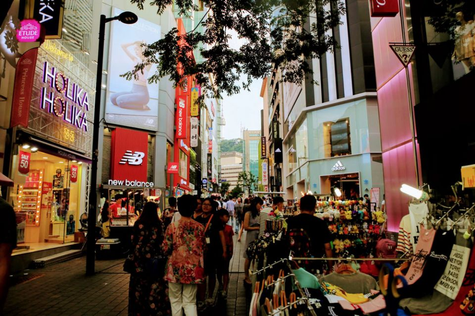 Korean skincare and street food, a shopping guide in Myeongdong