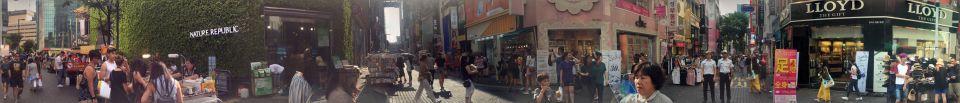 panorama shopping guide in Myeongdong