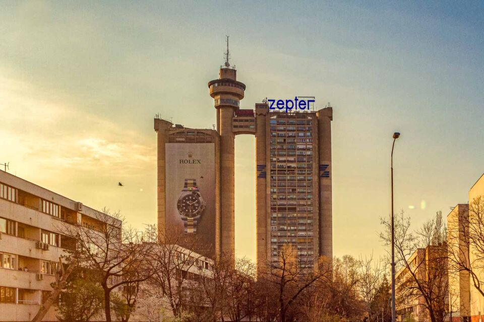 Western City Gate in Belgrade: Documenting an icon of Brutalism in Serbia