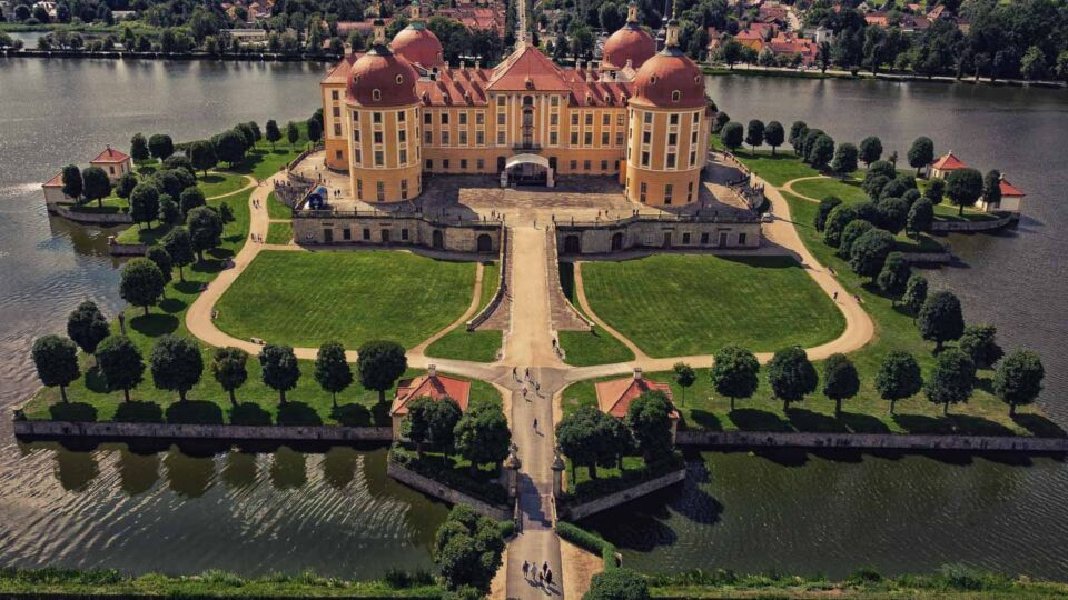 Moritzburg Castle: A fairy tale palace near Dresden