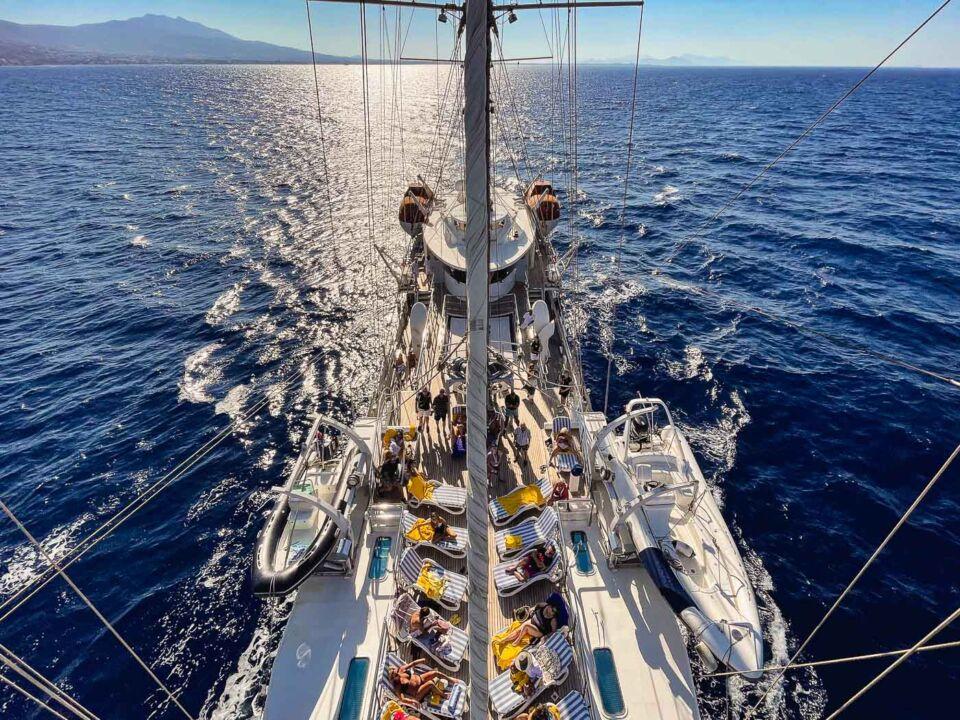 Running on Waves: Sailing on the Aegean Sea