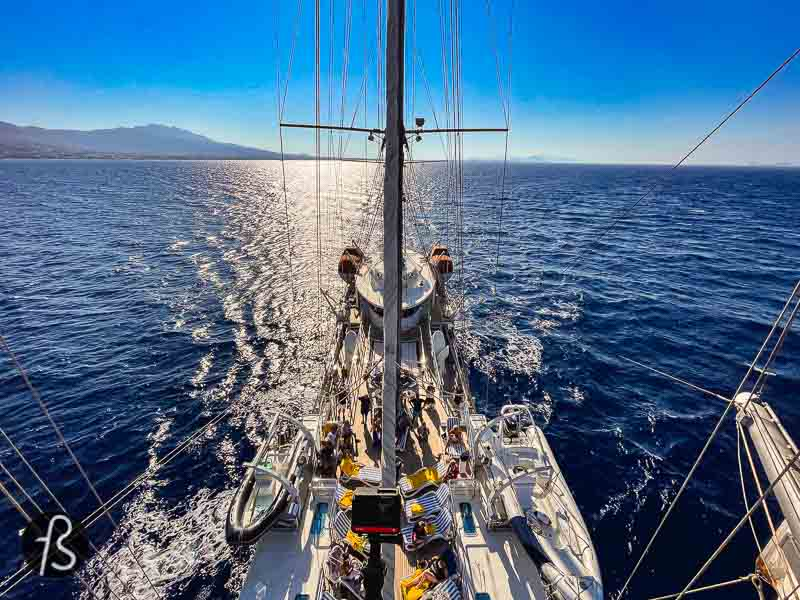 If you are looking for a yacht-style experience in a small ship with excellent food and service, we think we have the thing for you. Running on Waves took us on a week-long tour of the Greek island under the Aegean Cruise banner, and we couldn't be happier about it.